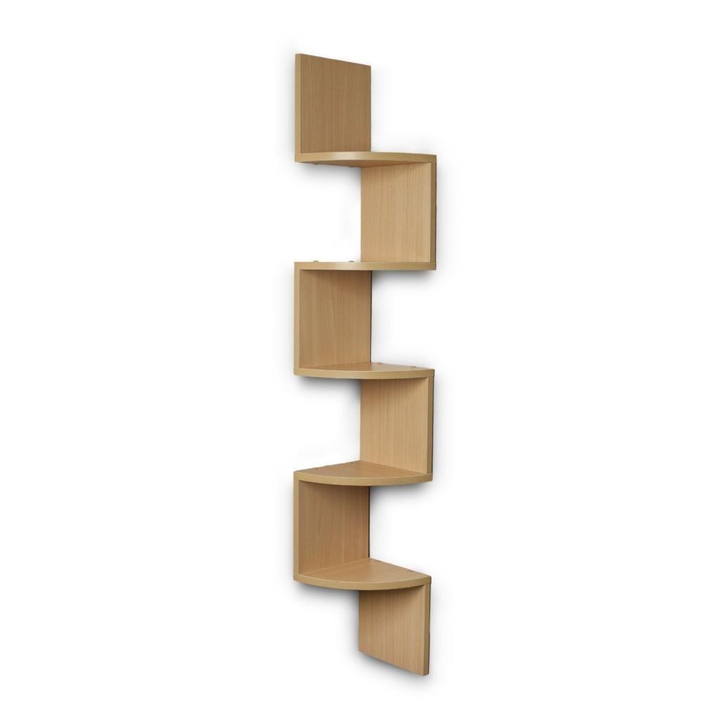 bavarian beech corner wall rack for home decor