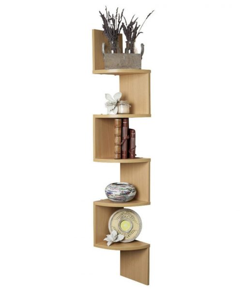 buy decornation corner wall shelf bavarian beech low price