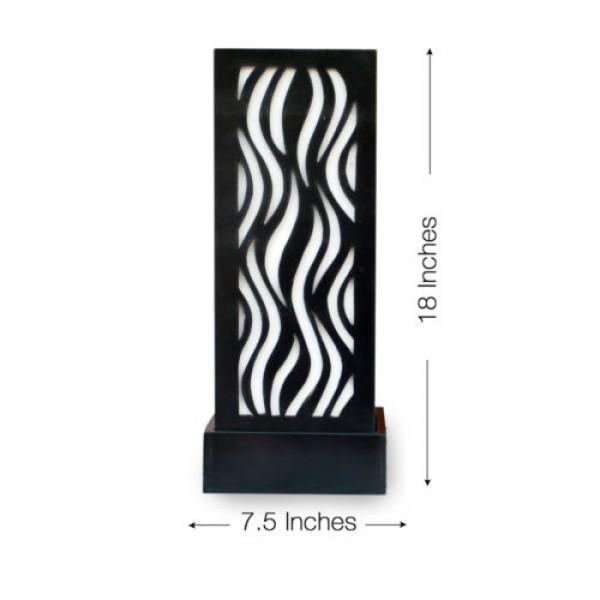buy decornation flame pattern bedside lamps
