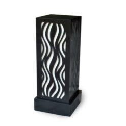 designer table lamps black for sale