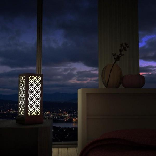 buy decornation black japanese circle pattern lamps