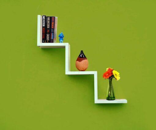 buy home decor w wall shelf white