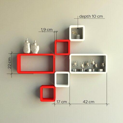 home decor contemporary wall racks online india