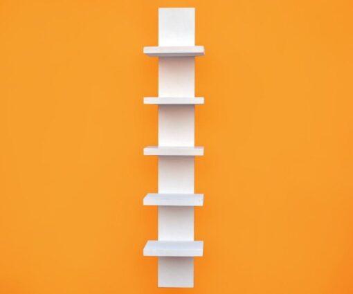 spine wall shelf white for home decor
