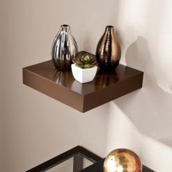 storage wall rack brown for sale online india