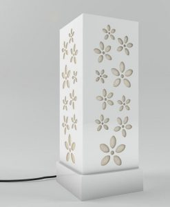 white floral floor lamps for sale
