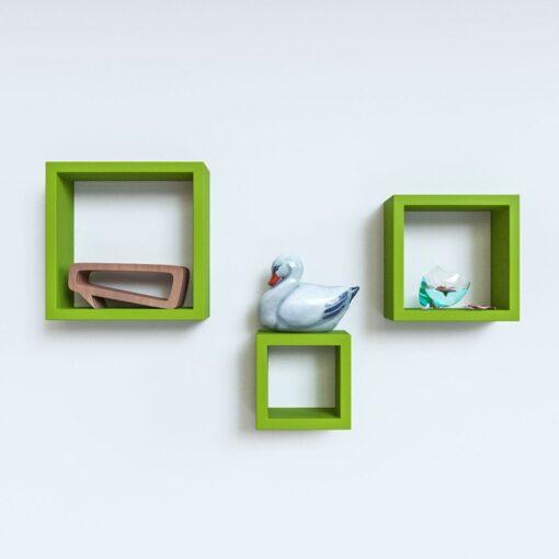 green designer wall shelves for sale online india