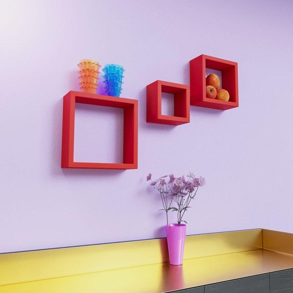 home decor furniture shelves square shape racks