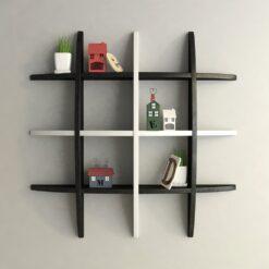 buy exclusive globe shelf black white for home decor