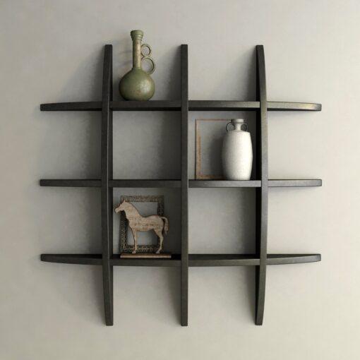 floating shelf for living room globe shelf black