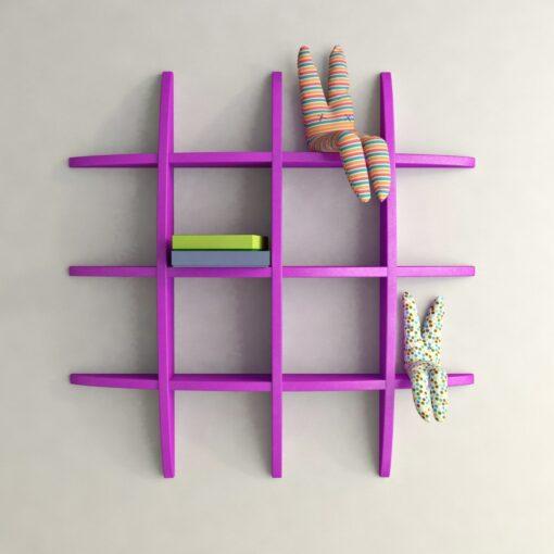 globe display unit purple for decor