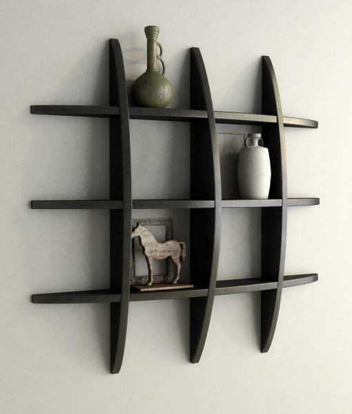 online black globe wall shelf