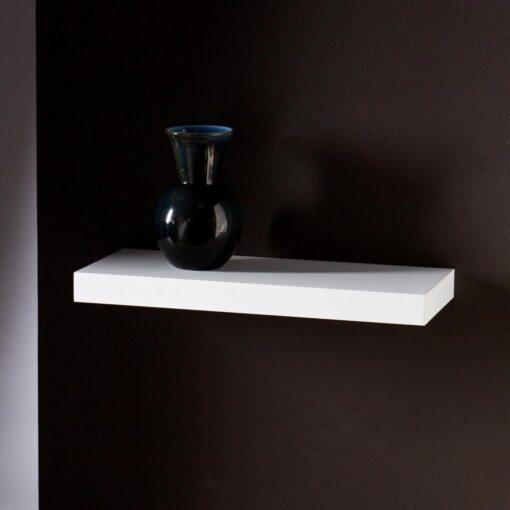 single wall rack for room decor white