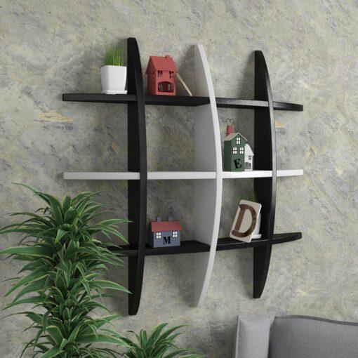 storage shelves black white cheap price online india
