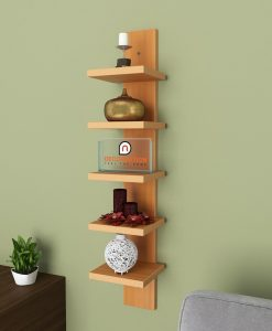 bavarian beech contemporary style spine shelf up for sale