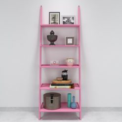 buy decornation single ladder shelf pink