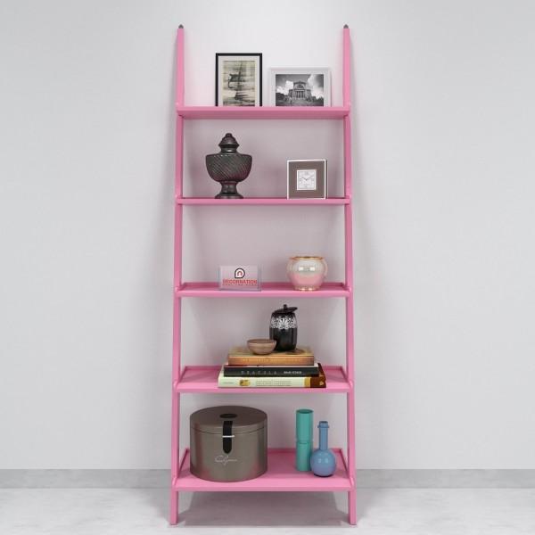 buy decornation single ladder shelf pink