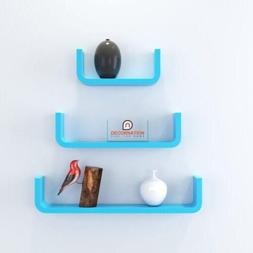 buy decornation u shape round corner wall shelves online