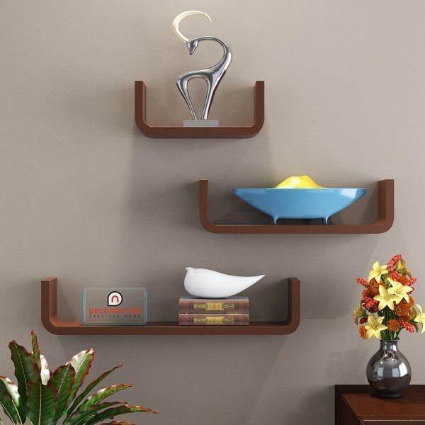 decorative display unit brown online