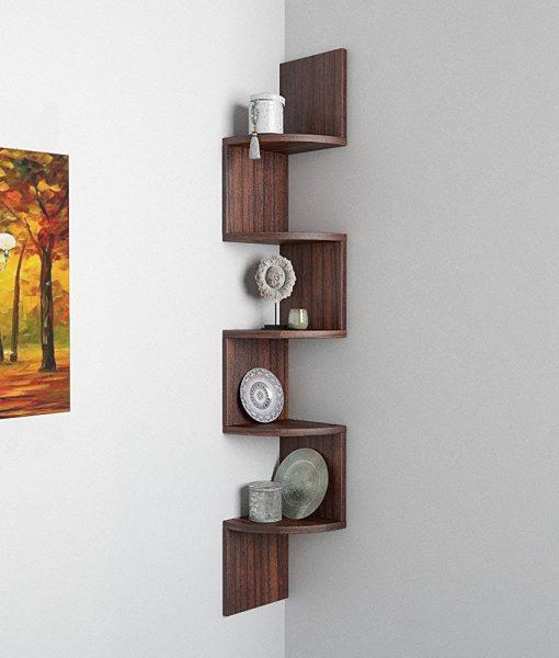decornation corner wall racks for display