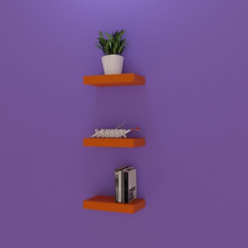 designer small size shelves for storage and display
