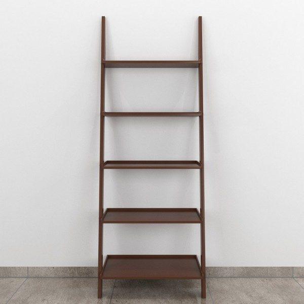 diy home decor ladder shelf brown color