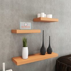 floating shelf unit bavarian beech