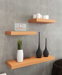 floating shelf unit bavarian beech
