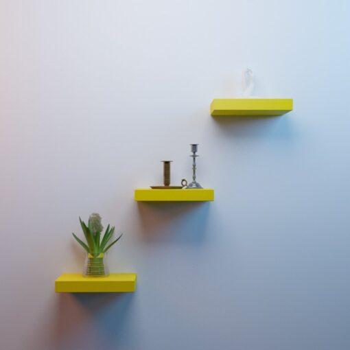 floating shelf unit for room decor