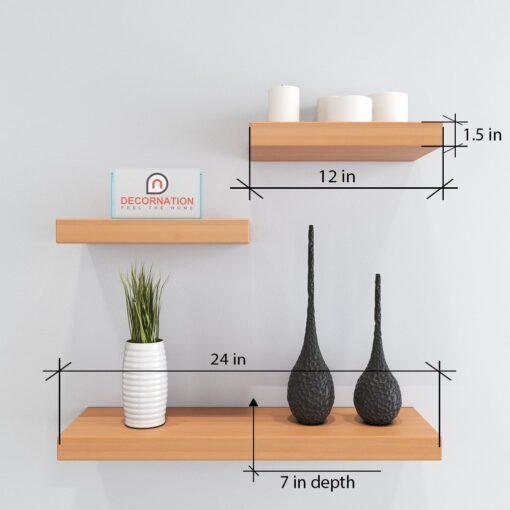 home decor furniture wall shelves bavarian beech