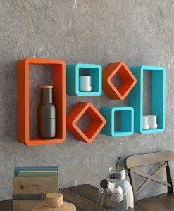 Cube Rectangle Shelves