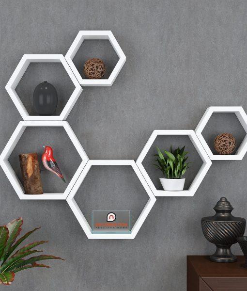 home decor wall shelves white