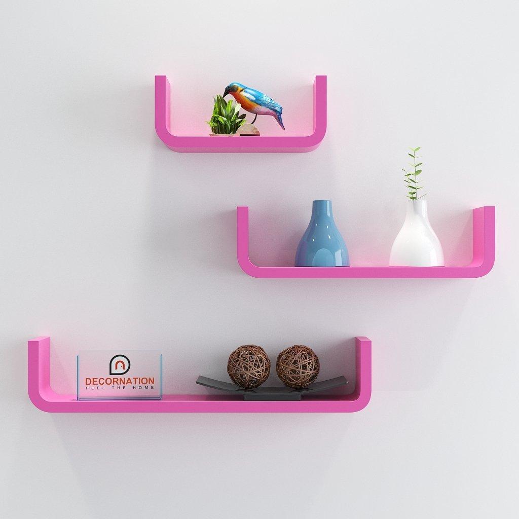 online sale wall racks pink