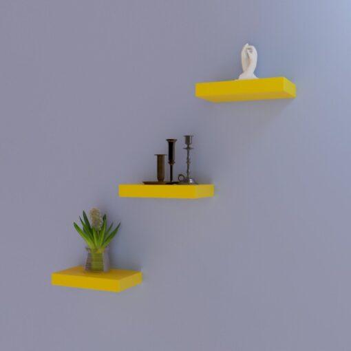 set of 3 wall decor units