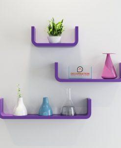 u round corner shelves for display