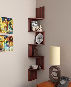 wall mounted display unit for decor