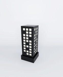 black square pattern lamps online