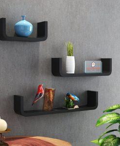U Shape Shelves