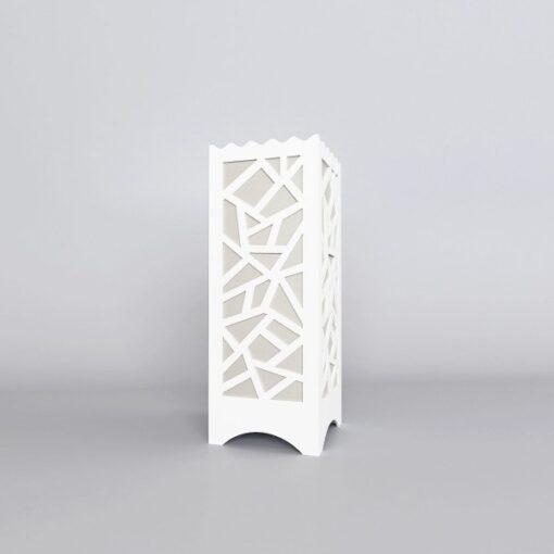 buy decornation white multi polygon lamps on low price