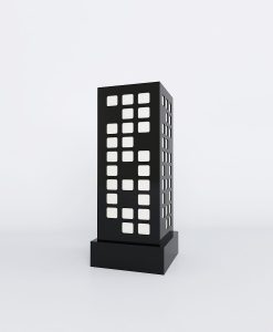 designer square pattern table lamps for sale