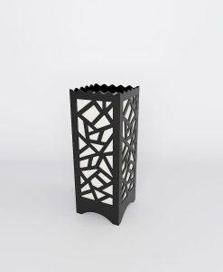 multi polygon pattern bedside lamps