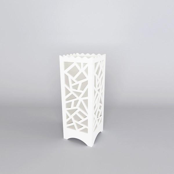 Glowing Multi-Polygon Shape Bedside Lamp - White