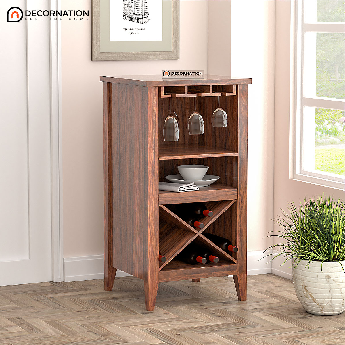 wooden-bar-unit
