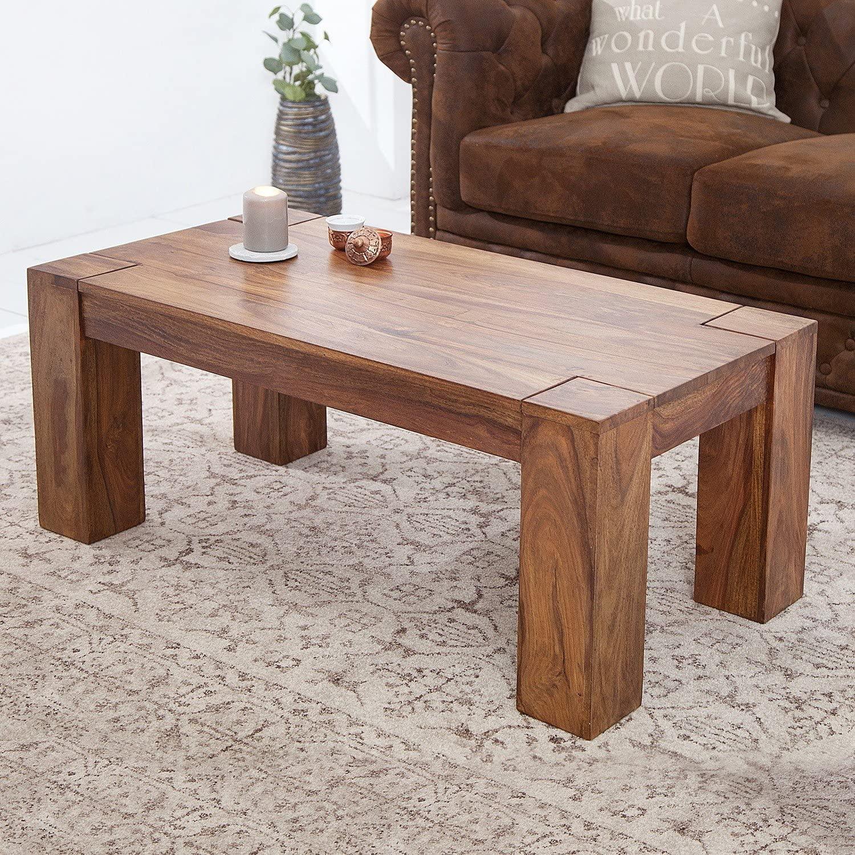 Hazel Sheesham Wood Living Room Coffee Table Decornation